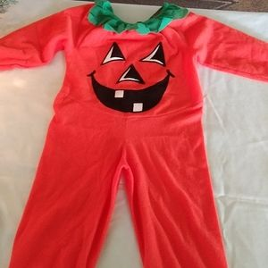 CHILDS PUMPKIN COSTUME
